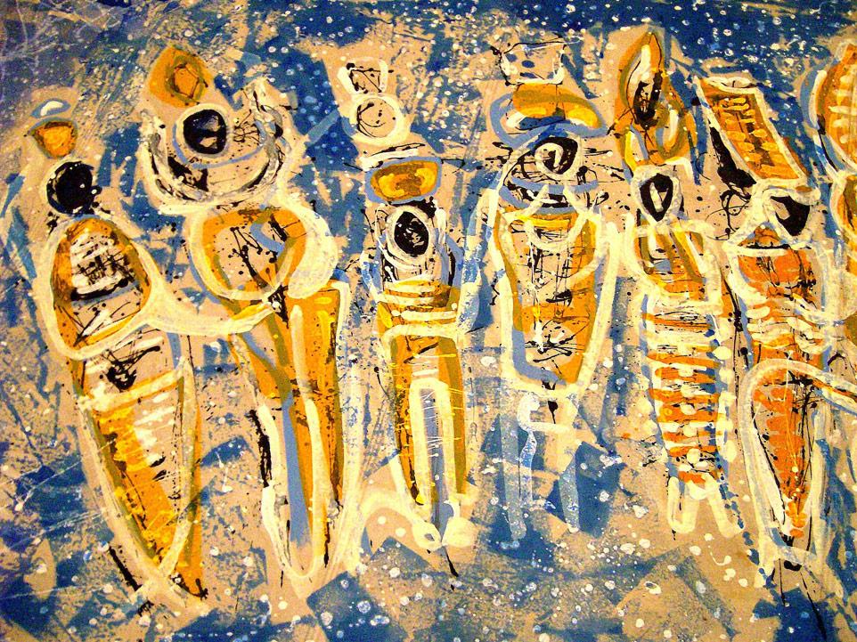 Detail Botschaft der Steine, 2011