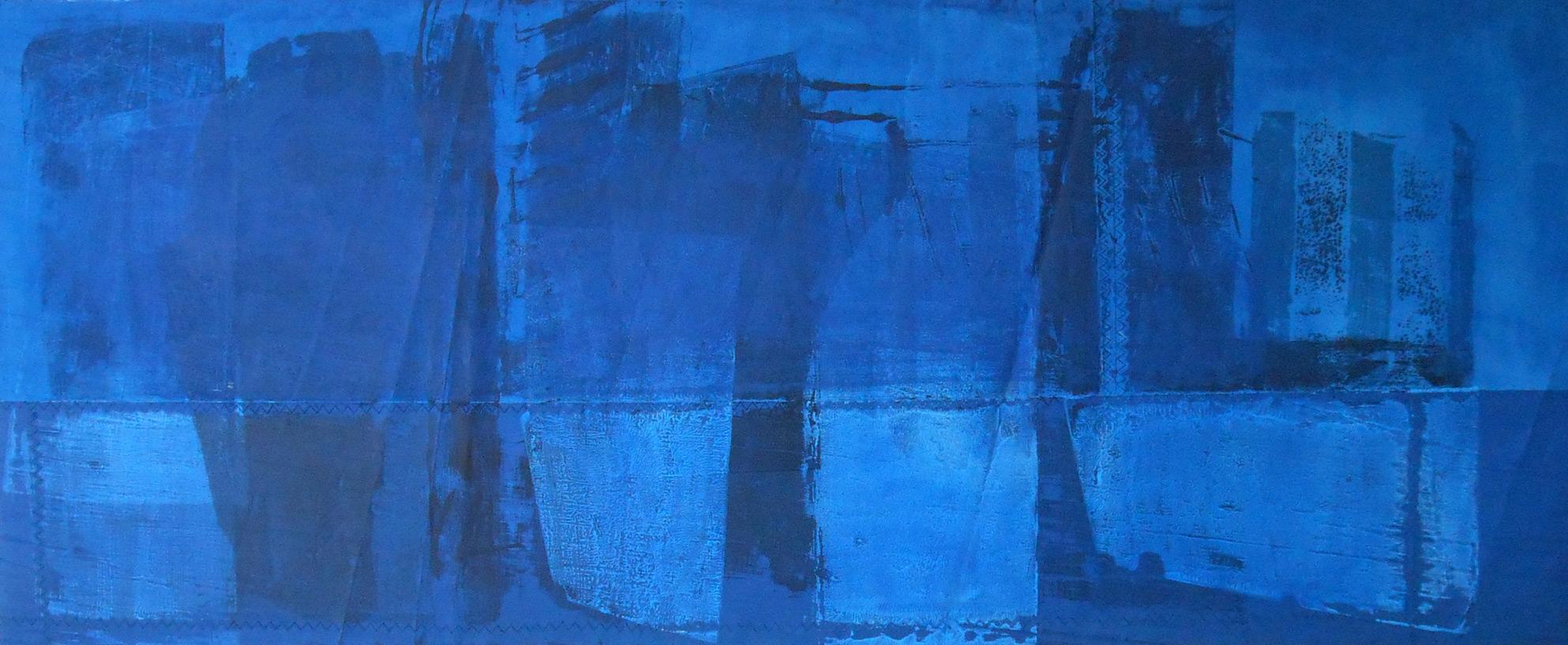 Blue Ice - 70 x 170 cm, 2014, 2.200,- €