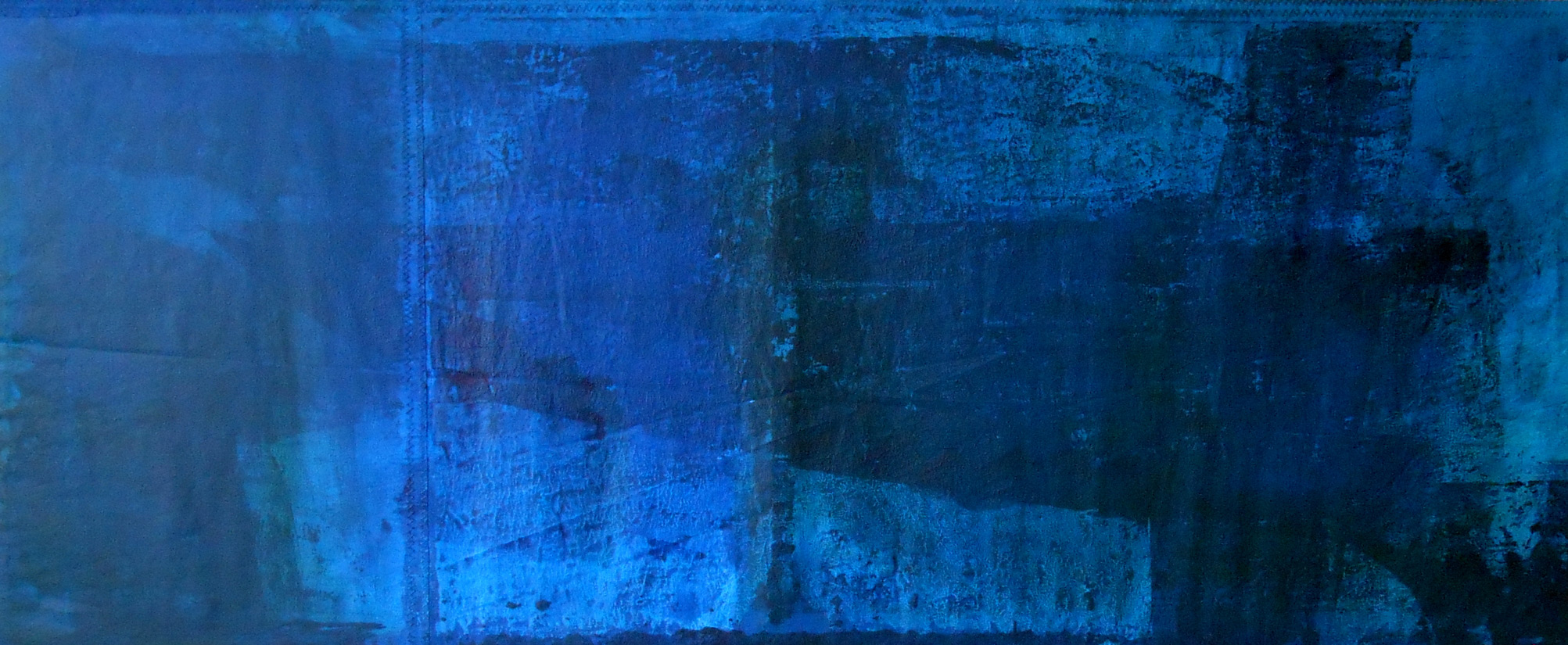 Blue Ship Down - 70 x 170 cm, 2014, 2.200,- €